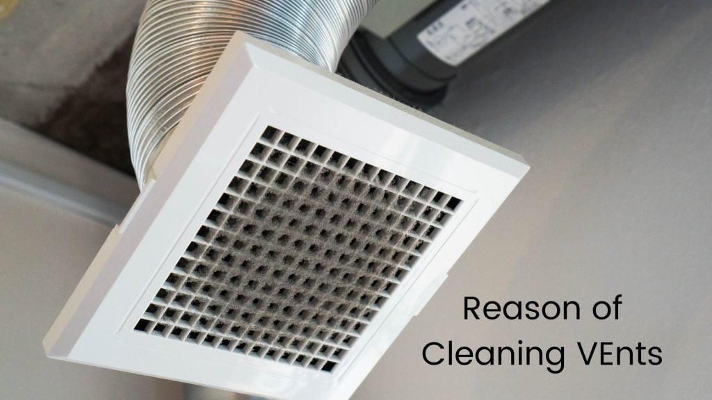 Cleaning Ceiling Vents