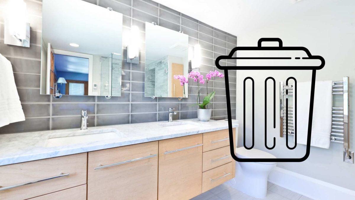 How To Remove A Bathroom Vanity (Update 2021)