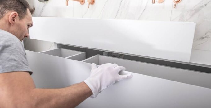 How To Paint Bathroom Cabinets | An Ultimate Guide For Beginners
